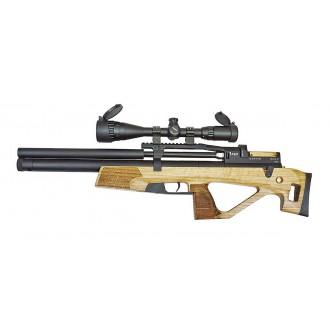 Пневматическая винтовка Jager (Егерь) SPR Булл-пап 5.5 мм (орех) с интегрированным модератором