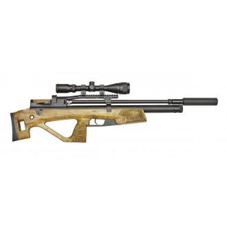 Jaeger (Егерь) Hunter SP булл-пап 6.35 мм (орех) с прицелом и насосом