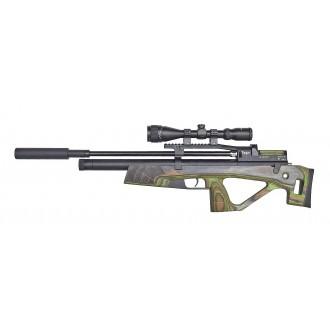 Пневматическая винтовка Jager (Егерь) SP булл-пап 6.35 мм зеленый