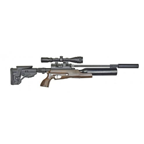 Пневматическая винтовка Jager (Егерь) SP Compact (орех) 6,35 мм