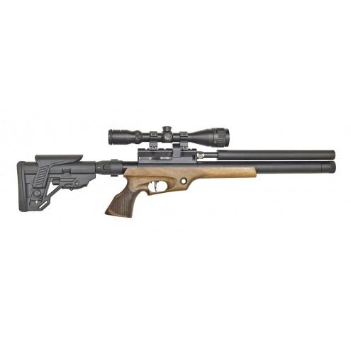 Пневматическая винтовка Jager (Егерь) SPR Compact (орех) 6,35 мм
