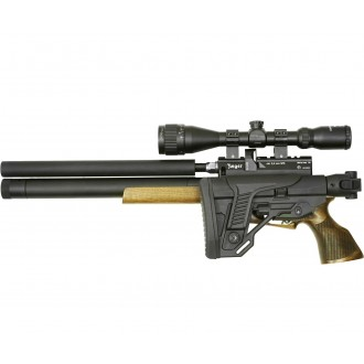 Пневматическая винтовка Jager (Егерь) SPR Карабин 292 мм 5.5 мм складной приклад