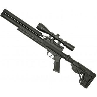 Пневматическая винтовка Jager (Егерь) SPR Карабин 5.5 мм металл складной приклад