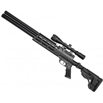 Пневматическая винтовка Jager (Егерь) SPR Карабин 5.5 мм складной приклад металлическая