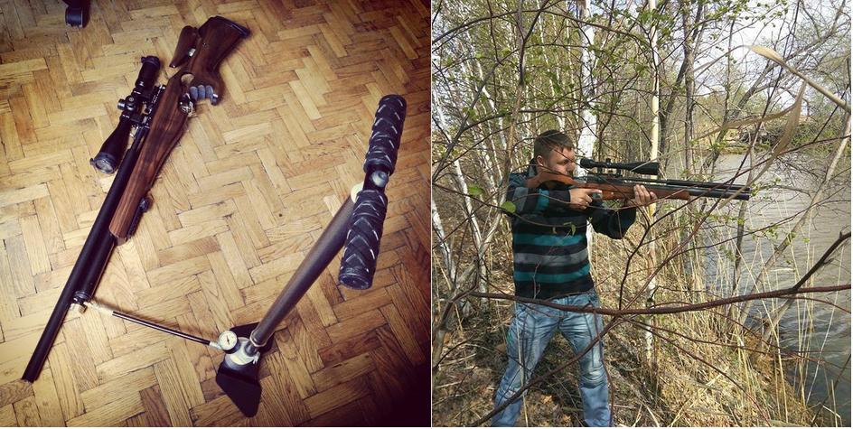 pcp винтовки Horhe Jager