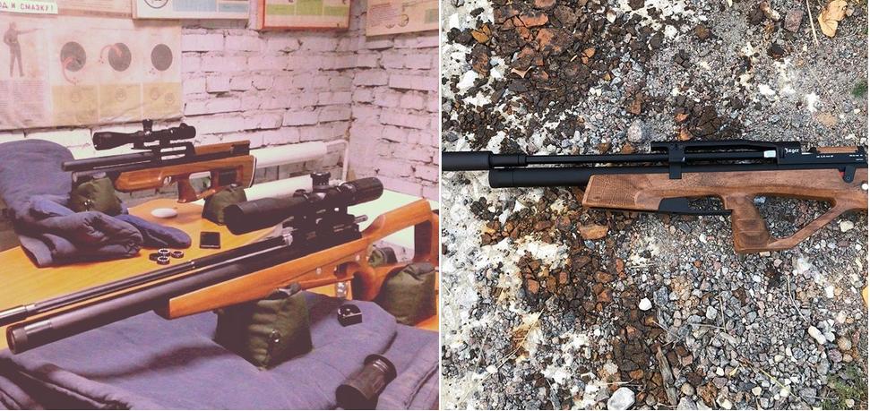 винтовки Егерь Русская Оружейная Компания