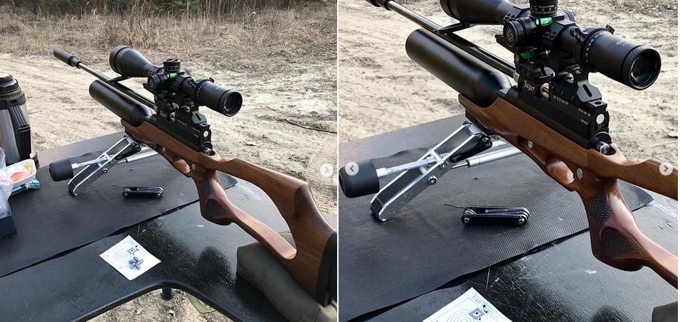пневмастическая винтовка Jeger производства Русская Оружейная Компания