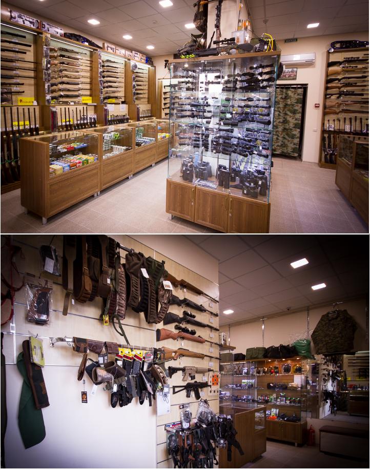 магазин винтовок Егерь
