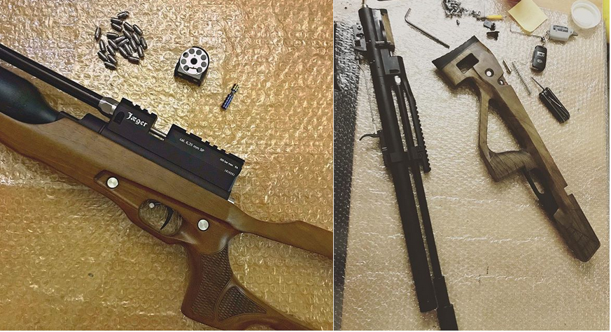 ремонт винтовки Егерь