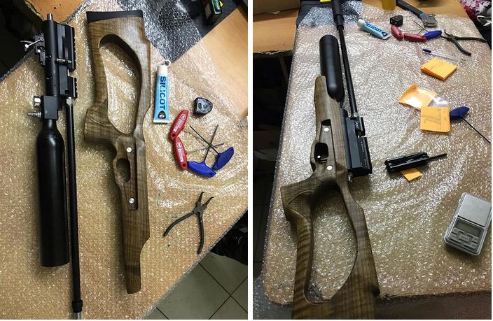 ремонт pcp винтовок Eger